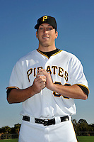 Feb 28, 2010; Bradenton, FL, USA; Pittsburgh Pirates  pitcher Craig Hansen (38) during  photoday at Pirate City. Mandatory Credit: Tomasso De Rosa/ Four Seam Images