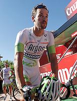 Simon Geschke before the stage of La Vuelta 2012 between La Robla and Lagos de Covadonga.September 2,2012. (ALTERPHOTOS/Acero) /NortePhoto.com<br /> <br /> **CREDITO*OBLIGATORIO** <br /> *No*Venta*A*Terceros*<br /> *No*Sale*So*third*<br /> *** No*Se*Permite*Hacer*Archivo**<br /> *No*Sale*So*third*