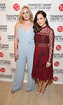 Ginna Le Vine and Hanna Elless attends the Transport Group Theatre Company 'A Toast to the Artist - An Evening with Mary-Mitchell Campbell & Friends'  at The The Times Center on February 6, 2017 in New York City.
