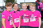 Caherciveen ladies l-r: Grainne O'Shea, Aoife Ní Bhrloinn, Noreen O'Shea and Caroline O'sullivan at the Killarney Ladies mini marathon on Saturday