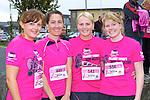 Caherciveen ladies l-r: Grainne O'Shea, Aoife Ní Bhrloinn, Noreen O'Shea and Caroline O'sullivan at the Killarney Ladies mini marathon on Saturday