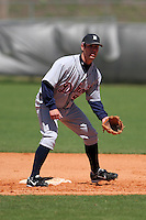 Detroit Tigers minor leaguer Scott Sizemore during Spring Training at the Chain of Lakes Complex on March 17, 2007 in Winter Haven, Florida.  (Mike Janes/Four Seam Images)