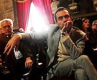 Apertura Anno Giudiziario nel distretto di Napoli nello storico salone dei Busti di Castel Capuano<br /> luigi de magistris