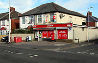 Pictured: Superton store in Newport, Wales, UK<br /> Re: A family have slammed a court's decision to order an ex-employee of their business, who stole more than £29,000, to pay back just £100 a month to his former boss.<br /> Somerton Super Store – which also contains a post office – in Newport, south Wales, is run by Jatinderpal Bajwa, and employed Lehi Joseph Drummond to cash up and total the post office's cash.<br /> Drummond, of Cwmbran, admitted to committing theft at the site between January and May 2018.<br /> The business owner now has to pay back the stolen cash, totalling £29,722.19 in £1,000 instalments every month for the next 29 months to the Post Office.