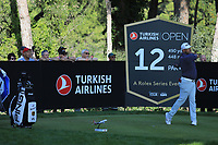 Lee Westwood (ENG) during the second round of the Turkish Airlines Open, Montgomerie Maxx Royal Golf Club, Belek, Turkey. 08/11/2019<br /> Picture: Golffile | Phil INGLIS<br /> <br /> <br /> All photo usage must carry mandatory copyright credit (© Golffile | Phil INGLIS)