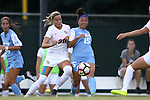 19 August 2016: North Carolina's Zoe Redei (15) and Central Florida's Julia Ekholm (SWE) (20). The University of North Carolina Tar Heels hosted the University of Central Florida Knights in a 2016 NCAA Division I Women's Soccer match. UNC won the game 2-0
