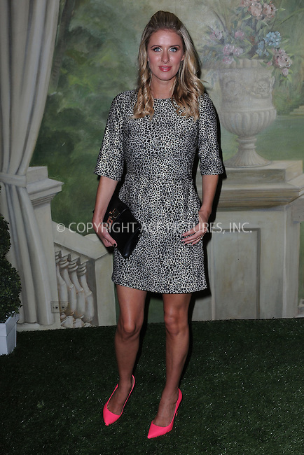 WWW.ACEPIXS.COM<br /> September 8, 2014 New York City<br /> <br /> Nicky Hilton attending the Alice + Olivia By Stacy Bendet presentation during Mercedes-Benz Fashion Week Spring 2015 at The Pierre Hotel on September 8, 2014 in New York City.<br /> <br /> By Line: Kristin Callahan/ACE Pictures<br /> ACE Pictures, Inc.<br /> tel: 646 769 0430<br /> Email: info@acepixs.com<br /> www.acepixs.com