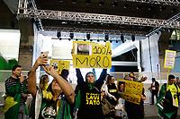 11.06.2019 - Protesto a favor de Sérgio Moro na Fiesp