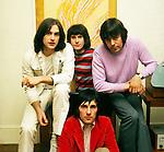 Kinks 1969 Dave Davies Ray Davies Mick Avory John Dalton<br /> &copy; Chris Walter