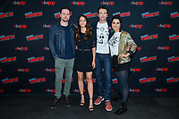 """NEW YORK - OCTOBER 5: Michael Mosley, Fernanda Andrade, Jason Butler Harner and Eve Harlow attend the press room for FOX's """"neXt"""" during the 2019 NY Comic-Con at the Jacob Javits Convention Center on October 5, 2019 in New York City. (Photo by Anthony Behar/FOX/PictureGroup)"""