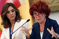 Valeria Fedeli Minister of Instruction <br /> Roma 29/09/2017. Campidoglio. Terza Conferenza nazionale sulla famiglia<br /> Rome September 29th 2017. 'Third Conference about Family'<br /> Foto Samantha Zucchi Insidefoto
