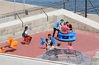 Spielplatz in Valletta, Malta, Europa
