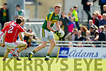 Johnny Buckley Kerry in action against Brian O Driscoll Cork in the National Football league in Austin Stack Park, Tralee on Sunday.