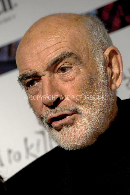 WWW.ACEPIXS.COM . . . . . ....April 5 2010, New York City....Sir Sean Connery at the 8th annual 'Dressed To Kilt' Charity Fashion Show presented by Glenfiddich at M2 Ultra Lounge on April 5, 2010 in New York City....Please byline: KRISTIN CALLAHAN - ACEPIXS.COM.. . . . . . ..Ace Pictures, Inc:  ..(212) 243-8787 or (646) 679 0430..e-mail: picturedesk@acepixs.com..web: http://www.acepixs.com