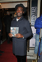 Paapa Essiedu at the &quot;Betrayal&quot; play press night, The Harold Pinter Theatre, Panton Street, London, England, UK, on Wednesday 13th March 2019.<br /> CAP/CAN<br /> &copy;CAN/Capital Pictures