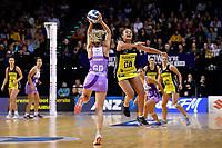 Pulse&rsquo; Tiana Metuarau in action during the ANZ Premiership - Pulse v Stars at TSB Arena, Wellington, New Zealand on Monday 13 May 2019. <br /> Photo by Masanori Udagawa. <br /> www.photowellington.photoshelter.com