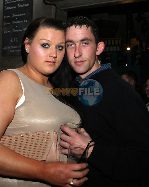 Aisling Myles and Stephen O'Leary in Cairnes...(Photo credit should read Jenny Matthews/NEWSFILE)...