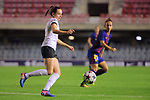 UEFA Women's Champions League 2017/2018.<br /> Round of 16.<br /> FC Barcelona vs Gintra Universitetas: 3-0.<br /> Liucija Vaitukaityte.
