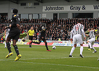 Victor Wanyama on the ball in the St Mirren v Celtic Clydesdale Bank Scottish Premier League match played at St Mirren Park, Paisley on 20.10.12. ..