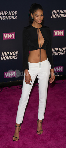 New York, NY July 11: Chanel Iman attends the VH1 Hip Hop Honors: All Hail The Queens at David Geffen Hall on July 11, 2016 in New York City.@John Palmer / Media Punch
