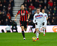 Xherdan Shaqiri of Stoke City breaks forward during AFC Bournemouth vs Stoke City, Premier League Football at the Vitality Stadium on 3rd February 2018