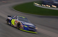 Rookie driver Jimmie Johnson (#48).