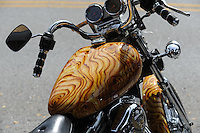 NWA Democrat-Gazette/ANDY SHUPE<br /> Visitors enjoy the second day Thursday, Sept. 24, 2015, of the 16th annual Bikes, Blues &amp; BBQ motorcycle rally on Dickson Street in Fayetteville. Visit nwadg.com/photos to see more photographs from the rally.