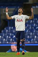 Keanan Bennetts celebrates scoring Tottenham's opening goal during Chelsea Under-23 vs Tottenham Hotspur Under-23, Premier League 2 Football at Stamford Bridge on 13th April 2018