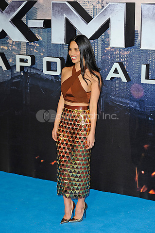 LONDON, ENGLAND - MAY 9: Olivia Munn attending the 'X-Men: Apocalypse' - Global Fan Screening at BFI IMAX in London on May 9, 2016 in London, England.<br /> CAP/MAR<br /> &copy; Martin Harris/Capital Pictures /MediaPunch ***NORTH AND SOUTH AMERICAN SALES ONLY***