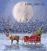 Marcello, CHRISTMAS SYMBOLS, WEIHNACHTEN SYMBOLE, NAVIDAD SÍMBOLOS,rein deer,slade, paintings+++++,ITMCXM2133,#xx#