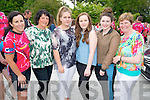 Patricia Leane, Gaby O'Sullivan, Kyan O'Sullivan, Elane Leane, Charlotte Leane and Martina Dineen all from Killarney pictured at the BBQ celebration after Freewheelers completed 550km charity cycle for children with disabilities and cancer clinic research trust in The Kerry Way, Glenflesk last Sunday.
