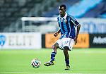 Stockholm 2014-03-09 Fotboll Svenska Cupen Djurg&aring;rdens IF - Assyriska FF :  <br /> Djurg&aring;rdens Yussif Chibsah i aktion <br /> (Foto: Kenta J&ouml;nsson) Nyckelord:  Djurg&aring;rden portr&auml;tt portrait