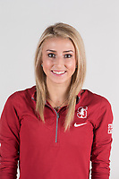 Stanford, CA - September 19, 2017: Stanford Women's Gymnastics Portraits.