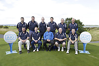 Castlebar team ahead the final of the AIG Jimmy Bruen Shield Connacht Final, in Galway Bay Golf Club, Galway, Ireland. 12/08/2017<br />