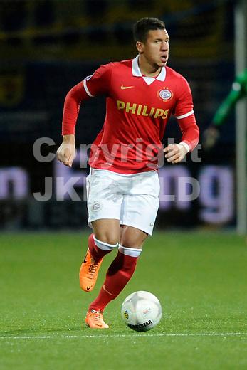 LEEUWARDEN - Voetbal, SC Cambuur - PSV,  Cambuur stadion, seizoen 2013-2014, 05-02-2014,  PSV speler Jeffrey Bruma