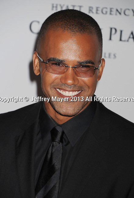 CENTURY CITY, CA- MAY 03: Actor Shemar Moore arrives at the 20th Annual Race To Erase MS Gala 'Love To Erase MS' at the Hyatt Regency Century Plaza on May 3, 2013 in Century City, California.