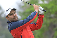 Romain Langasque (FRA) in action on 1st tee during the second round of the Magical Kenya Open presented by ABSA played at Karen Country Club, Nairobi, Kenya. 15/03/2019<br /> Picture: Golffile | Phil Inglis<br /> <br /> <br /> All photo usage must carry mandatory copyright credit (&copy; Golffile | Phil Inglis)