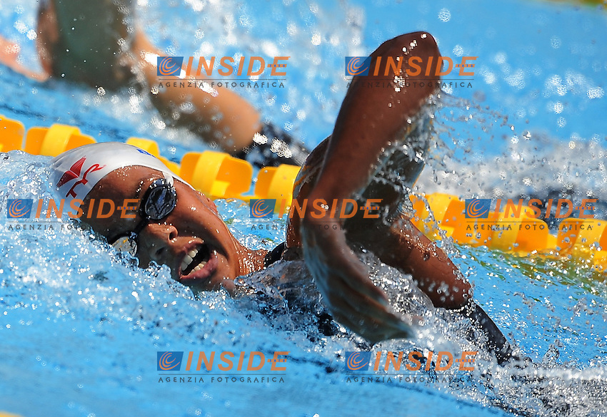 Roma 26th July 2009 - 13th Fina World Championships From 17th to 2nd August 2009....Swimming heats..Women's 400m freestyle..Coralie Balmy (FRA)....photo: Roma2009.com/InsideFoto/SeaSee.com