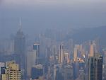 View at Hongkongs Central District.