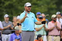 J.B. Holmes (USA) tees off the par3 13th tee during Friday's Round 2 of the 2017 PGA Championship held at Quail Hollow Golf Club, Charlotte, North Carolina, USA. 11th August 2017.<br /> Picture: Eoin Clarke | Golffile<br /> <br /> <br /> All photos usage must carry mandatory copyright credit (&copy; Golffile | Eoin Clarke)