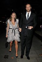 Martina Cechova and Petr Cech at the Legends of Football 23rd annual football awards gala 2018, Grosvenor House Hotel, Park Lane, London, England, UK, on Monday 08 October 2018.<br /> CAP/CAN<br /> ©CAN/Capital Pictures