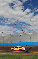 Nov. 13, 2009; Avondale, AZ, USA; NASCAR Sprint Cup Series driver Kevin Harvick during practice for the Checker O'Reilly Auto Parts 500 at Phoenix International Raceway. Mandatory Credit: Mark J. Rebilas-