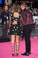 "Marvin and Rochelle Humes<br /> at the ""Bridget Jones's Baby"" World premiere, Odeon Leicester Square , London.<br /> <br /> <br /> ©Ash Knotek  D3149  05/09/2016"