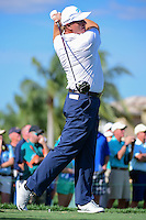 Ernie Els (ZAF) watches his tee shot on 13 during round 1 of the Honda Classic, PGA National, Palm Beach Gardens, West Palm Beach, Florida, USA. 2/23/2017.<br /> Picture: Golffile | Ken Murray<br /> <br /> <br /> All photo usage must carry mandatory copyright credit (&copy; Golffile | Ken Murray)