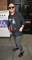 "Leigh Francis at the ""Waitress"" cast change media night, Adelphi Theatre, The Strand, London, England, UK, on Tuesday 02nd July 2019.<br /> CAP/CAN<br /> ©CAN/Capital Pictures"