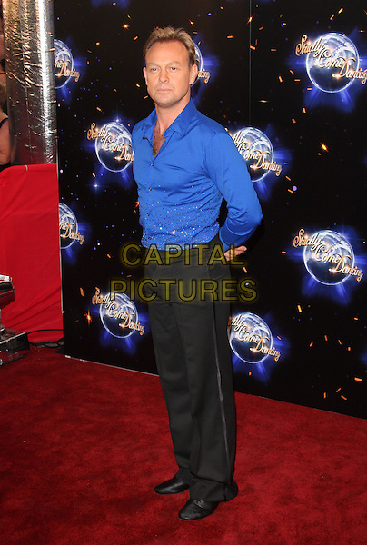 JASON DONOVAN.London - 'Strictly Come Dancing' Launch Event at BBC Studios, London - September 7th 2011.full length black trousers blue shirt .CAP/ROS.©Steve Ross/Capital Pictures