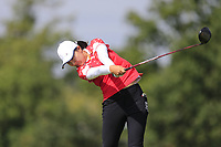 Mohan Du (PRC) during final day of the World Amateur Team Championships 2018, Carton House, Kildare, Ireland. 01/09/2018.<br /> Picture Fran Caffrey / Golffile.ie<br /> <br /> All photo usage must carry mandatory copyright credit (&copy; Golffile | Fran Caffrey)