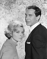 Mission: Impossible (1966)<br /> Barbara Bain as Cinnamon Carter<br /> Martin Landau as Rollin Hand<br /> *Filmstill - Editorial Use Only*<br /> CAP/PLF<br /> Image supplied by Capital Pictures /MediaPunch ***NORTH AND SOUTH AMERICAS ONLY***