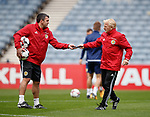 Gordon Strachan and Callum Davidson