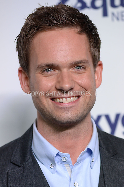 WWW.ACEPIXS.COM<br /> May 15, 2014 New York City<br /> <br /> Patrick J. Adams attending NBCUniversal Cable Entertainment Upfront at the Javits Center in New York City on Thursday, May 15, 2014.<br /> <br /> Please byline: Kristin Callahan/ACE Pictures<br /> <br /> ACEPIXS.COM<br /> <br /> Tel: (212) 243 8787 or (646) 769 0430<br /> e-mail: info@acepixs.com<br /> web: http://www.acepixs.com